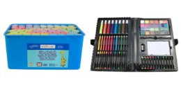 100-Pc Kids Art Set or Sidewalk Chalk Set $3, 50-Ct Crayola Tip Art Kit $7.80