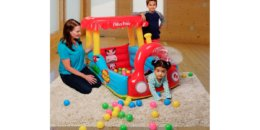 Fisher-Price Train Inflatable Ball Pit $19.98 {Reg. $45.99}