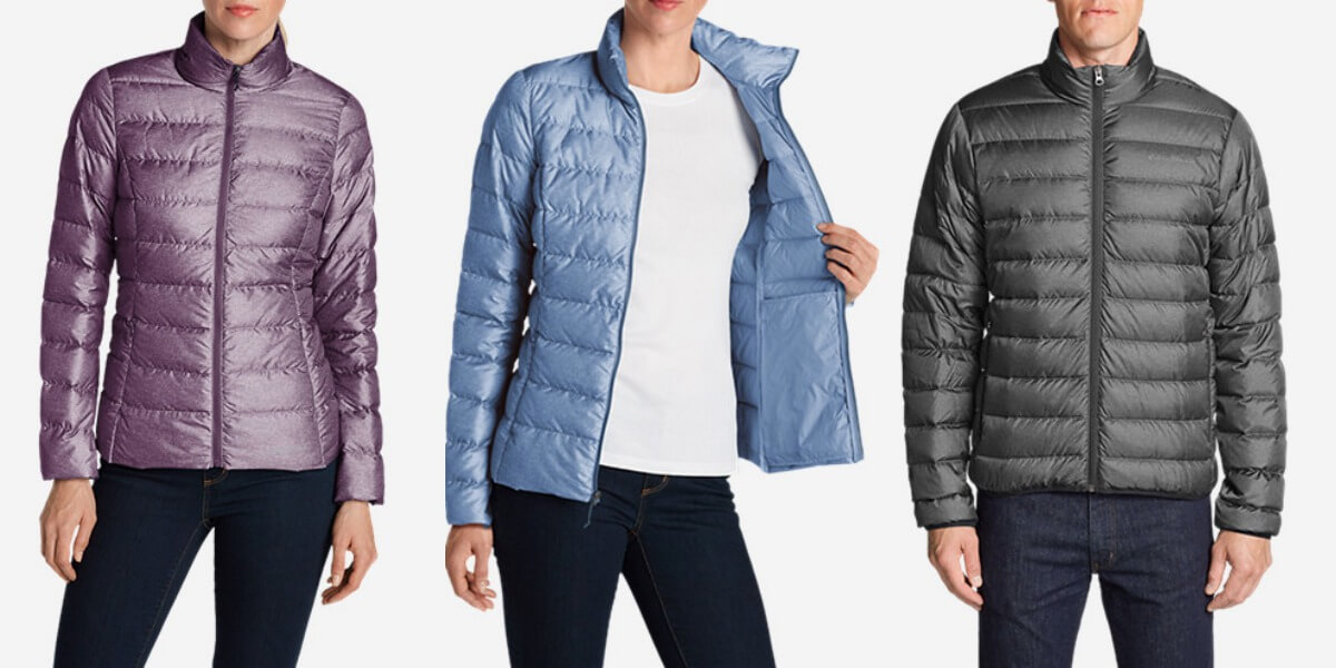 cbf017b5dfe85 Eddie Bauer Men's and Women's Cirruslite Down Jacket $39.99 (Reg. $99)
