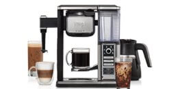 Ninja Coffee Bar Auto-iQ Coffee Maker, Milk Frother and Glass Carafe $99.99 (Reg.$199.99) + Free Shipping!