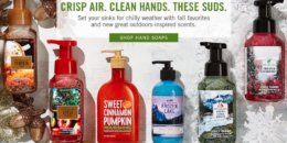 Bath and Body Works $2.39 Hand Soaps