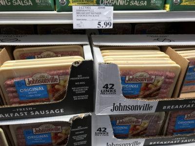 Costco: Hot Deal on Johnsonville Original Recipe Breakfast Sausage - $0.14 per Link!