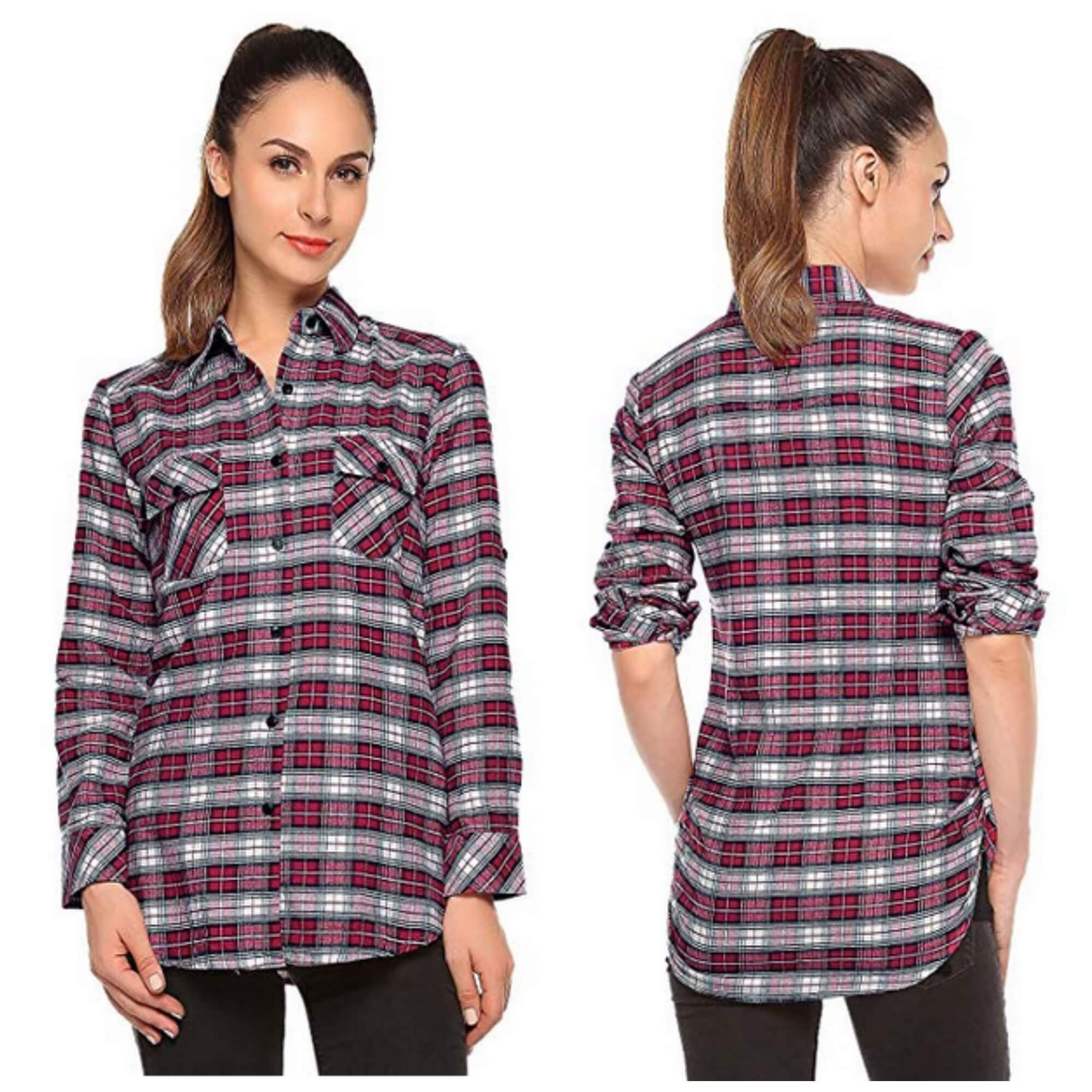 124d8e244b9 The Best Flannel Shirts on Amazon for under  20.00 (Women s Edition ...