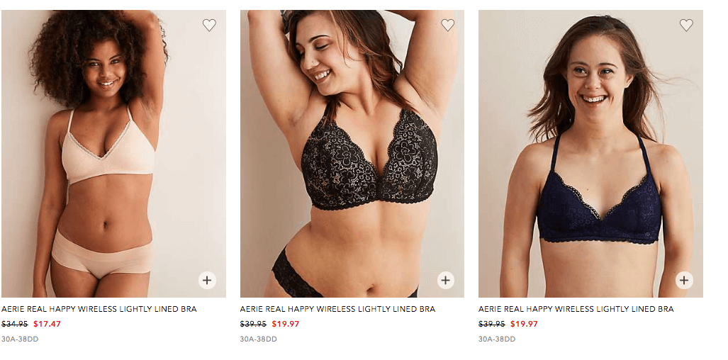 American Eagle Aerie 40 50 Off All Bras Starting At 14 97living