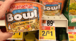Maruchan Bowls as low as $0.33 each at Stop & Shop