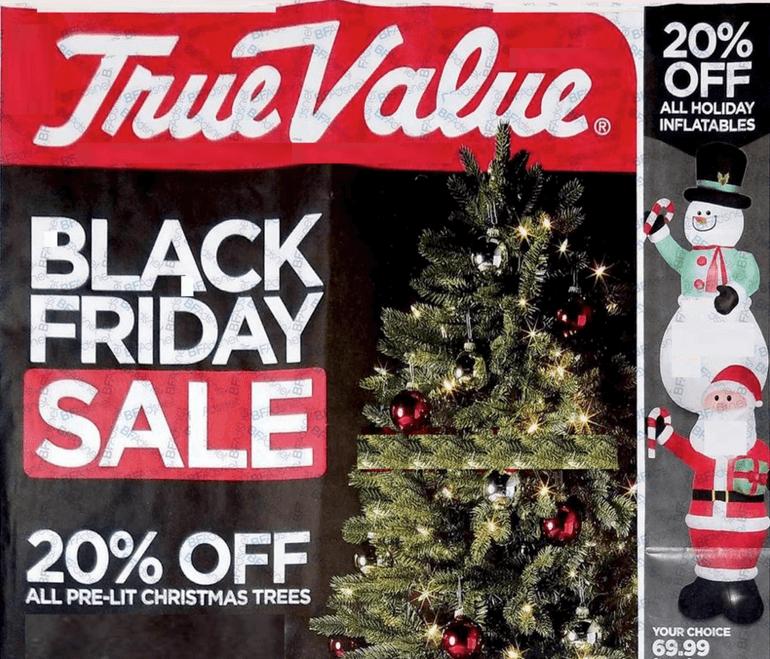 True Value Black Friday Ad 2018