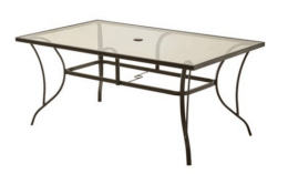 Mainstays Bristol Springs Outdoor Dining Table only $44.67 {Orig: $119}