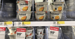 Chobani Greek Yogurt Cups &  Flips Only as Low as $0.57 at Target!