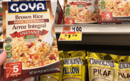 Goya Rice Mixes as low as $0.79 each at Stop & Shop!