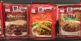 $0.76 McCormick Taco Seasoning Mixes at Target!