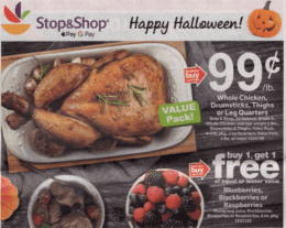 Stop & Shop Preview Ad Scan for the week of 10/26