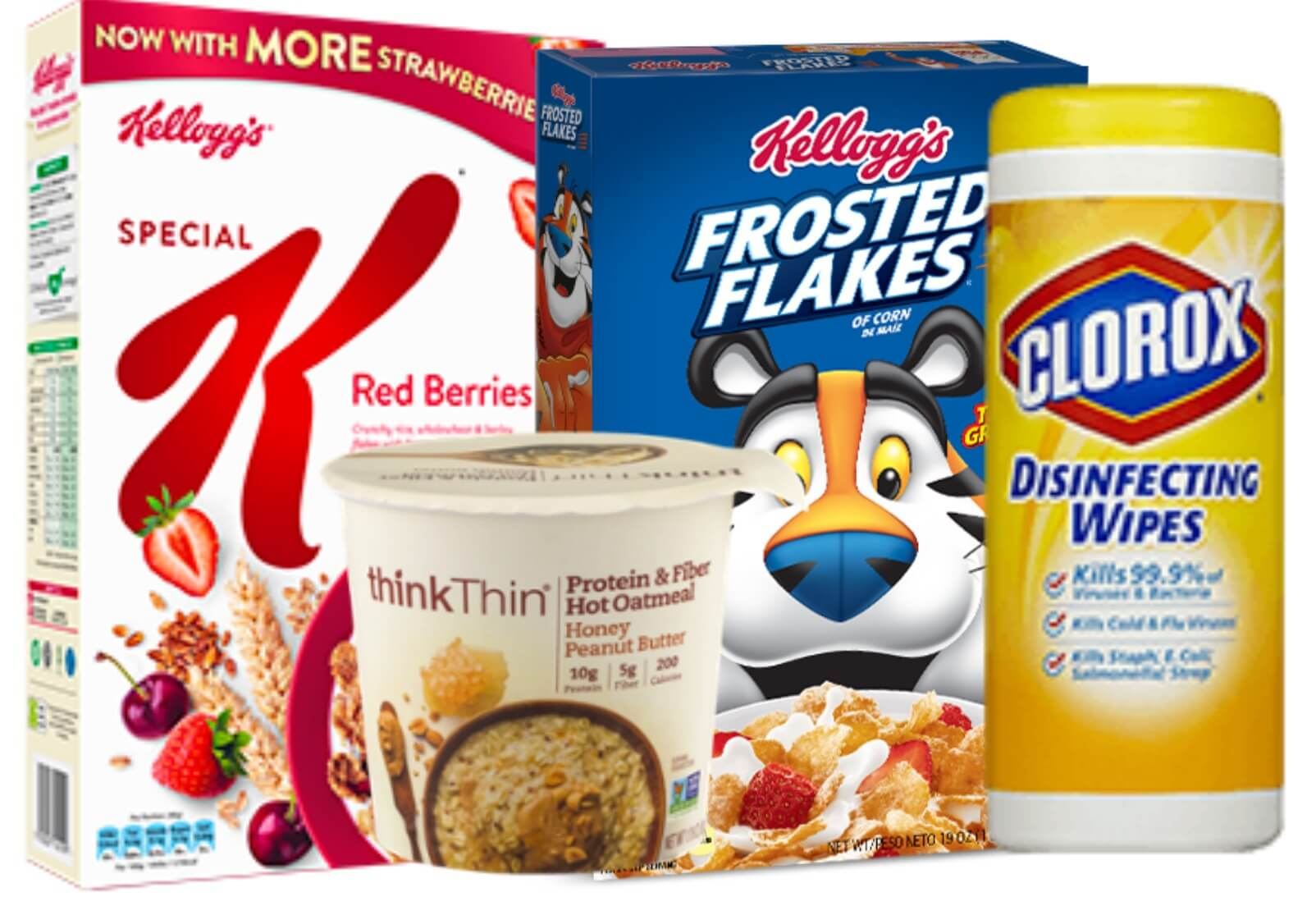 Today's Top New Coupons - Save on Kellogg's, Stayfree