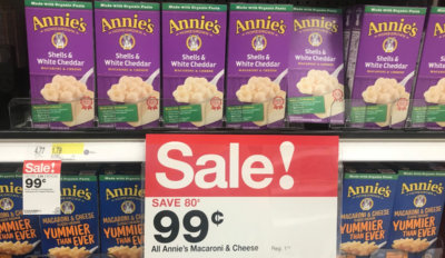 Target Shoppers - $0.74 Annie's Mac & Cheese Boxes!