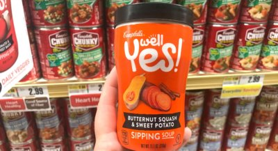 Better Than FREE Campbells Well Yes! Sipping Soups at ShopRite!