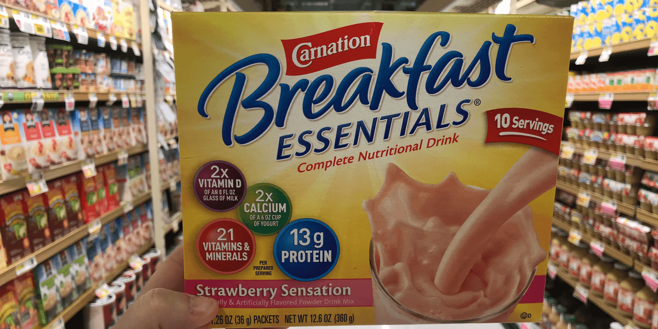 New $2/2 Carnation Breakfast Essentials Nutritional Products Coupon