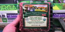 Clayton's Organic Ground Beef 1lb package Just $2.99 at ShopRite {No Coupons Needed}
