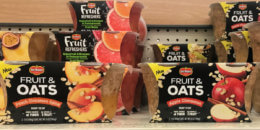 Del Monte Fruit & Oats Just $0.22 at Target! {Ibotta Rebate}