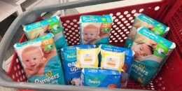 Get a $20 Target Gift Card When You Spend $100 or More on Baby Essentials - Includes HUGE Packs of Diapers!