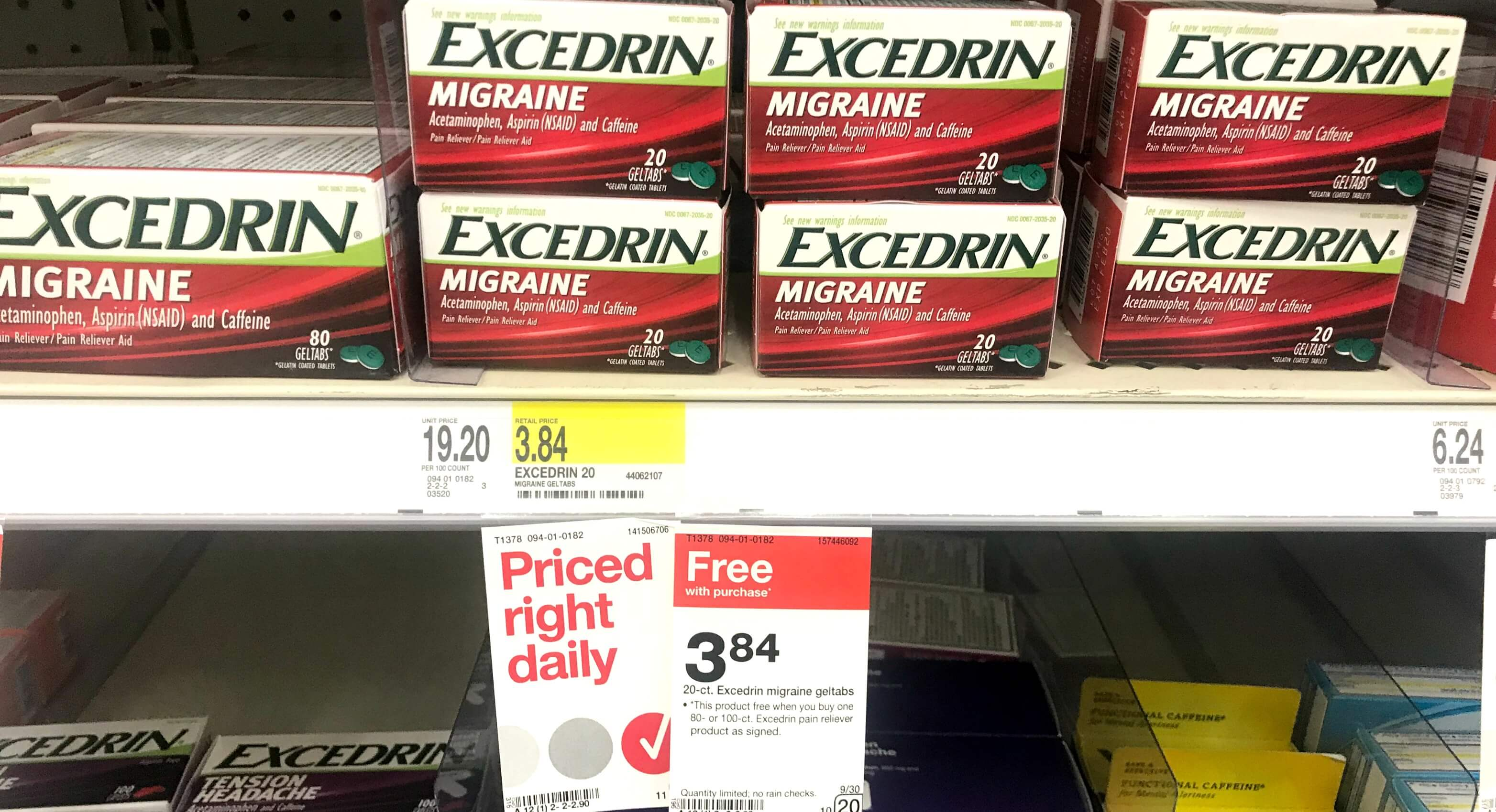 Excedrin Coupon December 2018