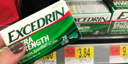 Excedrin Pain Relief as Low as FREE at Walmart! {Rebate}
