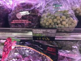 Green, Red or Black Seedless Grapes Just $0.99 per pound at ShopRite!