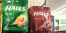 $0.50 Halls Cough Drops at Dollar Tree!