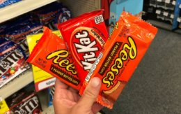 Reese's Peanut Butter Cups single packs Only $0.25 at CVS!