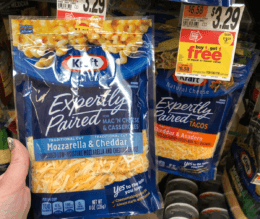 Kraft Expertly Paired Shredded Cheese Only $0.90 at Stop & Shop and Giant