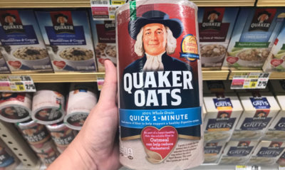 Quaker Quick Oats Only $0.98 at Walmart! {Ibotta Rebate}