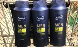 3 FREE + Over $1 Money Maker on Suave Men's Hair Care at Target! {Rebate}