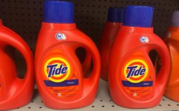 Tide Liquid Laundry Detergent & Pods Only $1.49 at Walgreens!