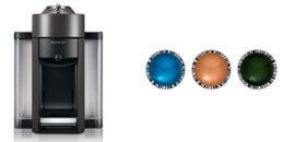 Nespresso Evoluo + 30 Pods $99.99 (Reg. $158)