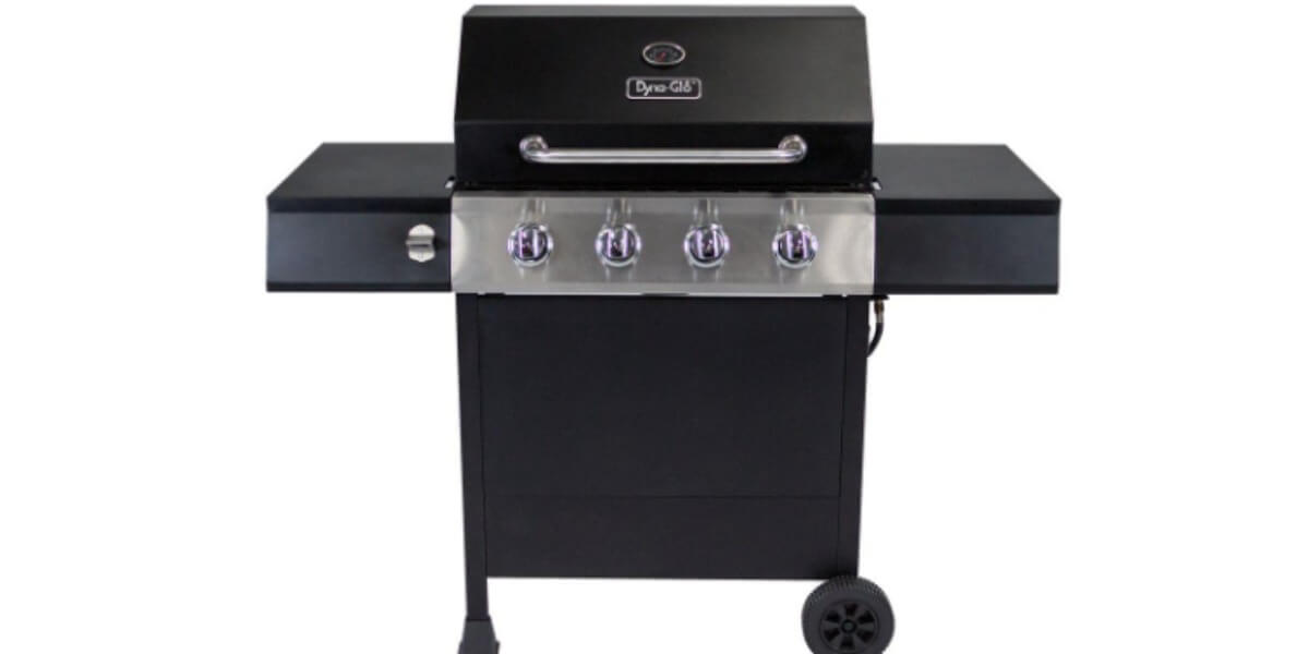 Dyna Glo 4 Burner Open Cart Lp Gas Grill 99 Reg 179