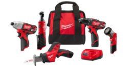 Home Depot: Up to 63% off Select Milwaukee Combo Tool Kits and Accessories