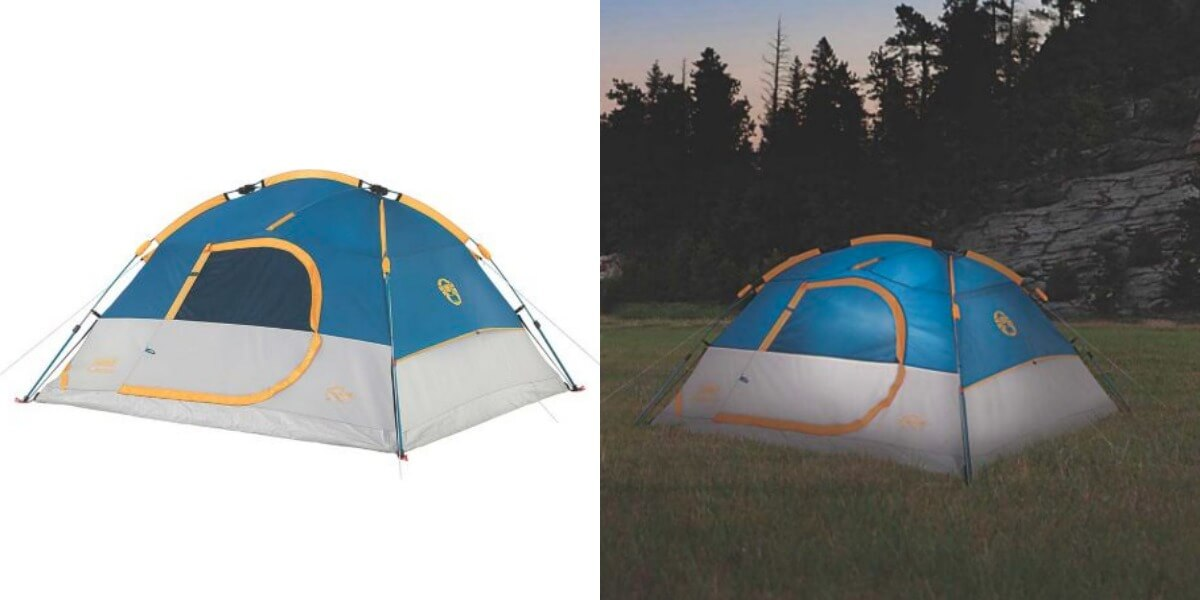 Coleman Flatiron 4-Person Instant Dome Tent $24.98 (Reg. $129.99)  sc 1 st  Living Rich with Coupons & Coleman Flatiron 4-Person Instant Dome Tent $24.98 (Reg. $129.99 ...