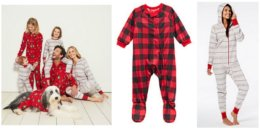 Matching Family PJ's Under $20 at Macys + Free Shipping!