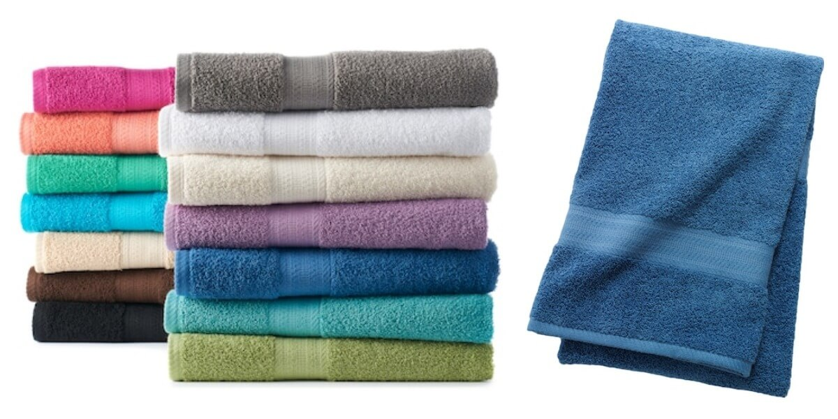The One Bath Towel Just 1 79 Each Free Shipping Orig 9 99
