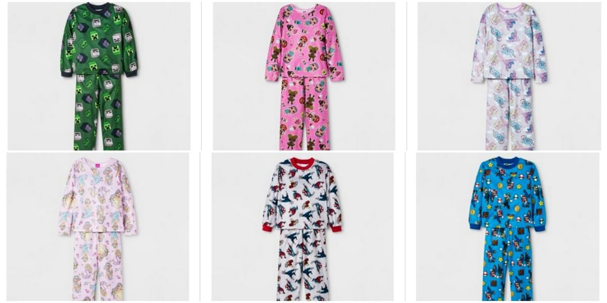 66d423eed83fc Kids Character Pajama Sets just $5.00 at Target + Free ...