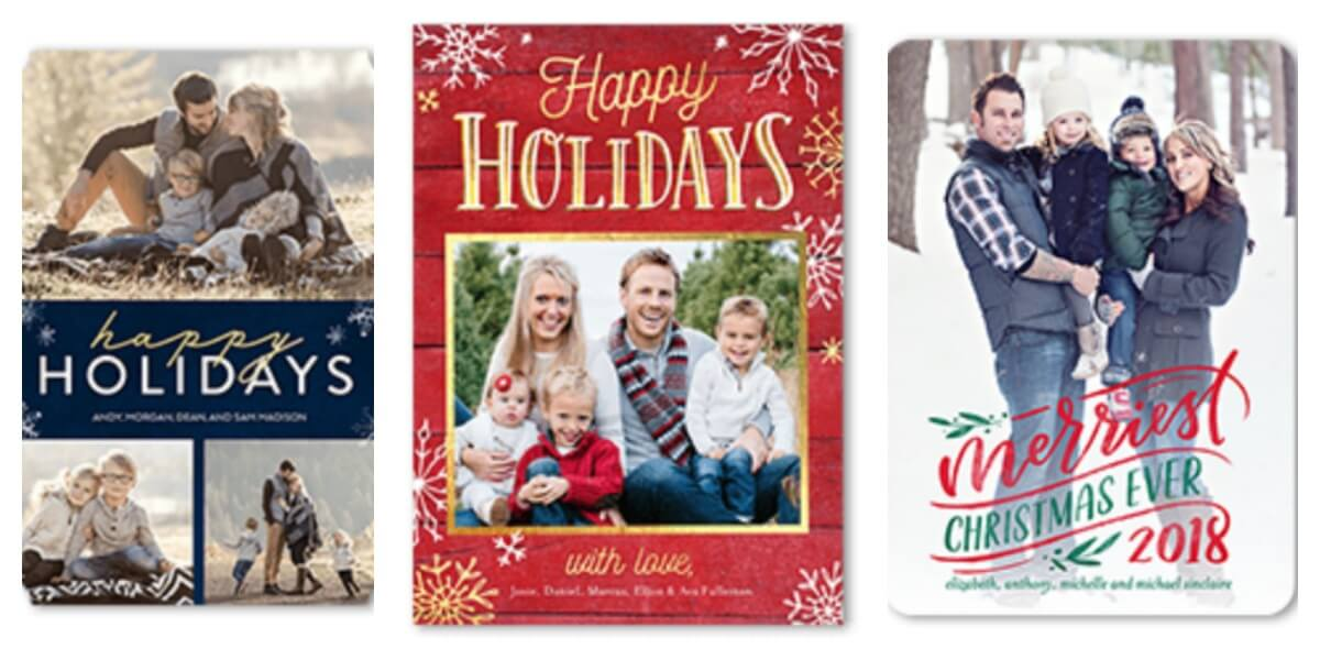 10 FREE Holiday Cards on Shutterfly through 11/25!Living Rich With ...