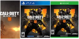 Call of Duty Black Ops 4 for Playstation or Xbox just $39.99 on Amazon