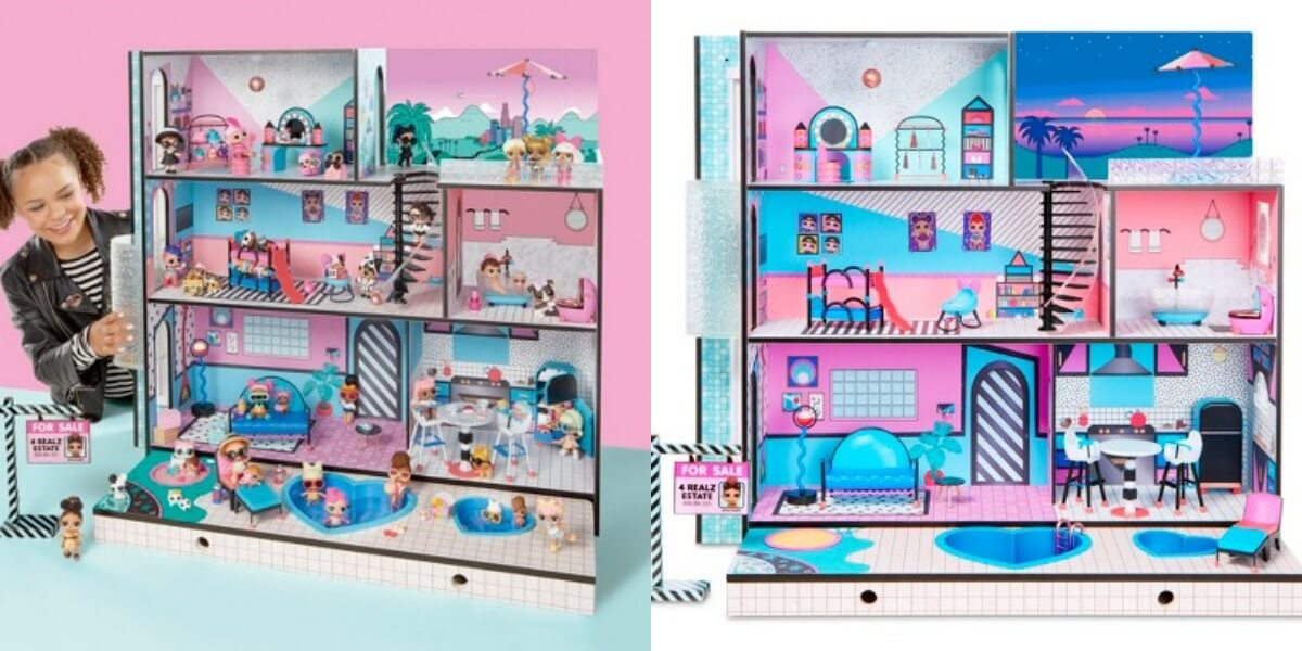 L O L Surprise Dollhouse 189 At Multiple Stores Best Price We Ve
