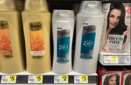 4 FREE Suave 2-in-1 Shampoo & Conditioner at Dollar General!