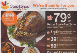 Stop & Shop Preview Ad Scan for the week of 11/16
