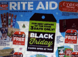 Rite Aid Black Friday Deals 2018