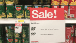 Target Shoppers  -  $0.47 Del Monte Canned Vegetables!