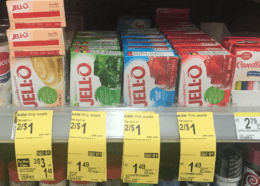 Jell-O Gelatin or Instant Pudding Only $0.50 at Walgreens! {No Coupons Needed}
