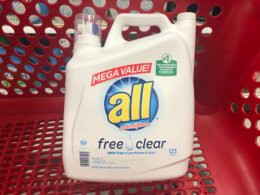 New $3/2 all Laundry Detergent Coupon - Only $0.08 Per Load at Walmart!