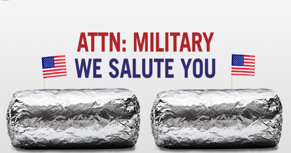Chipotle Military Discount