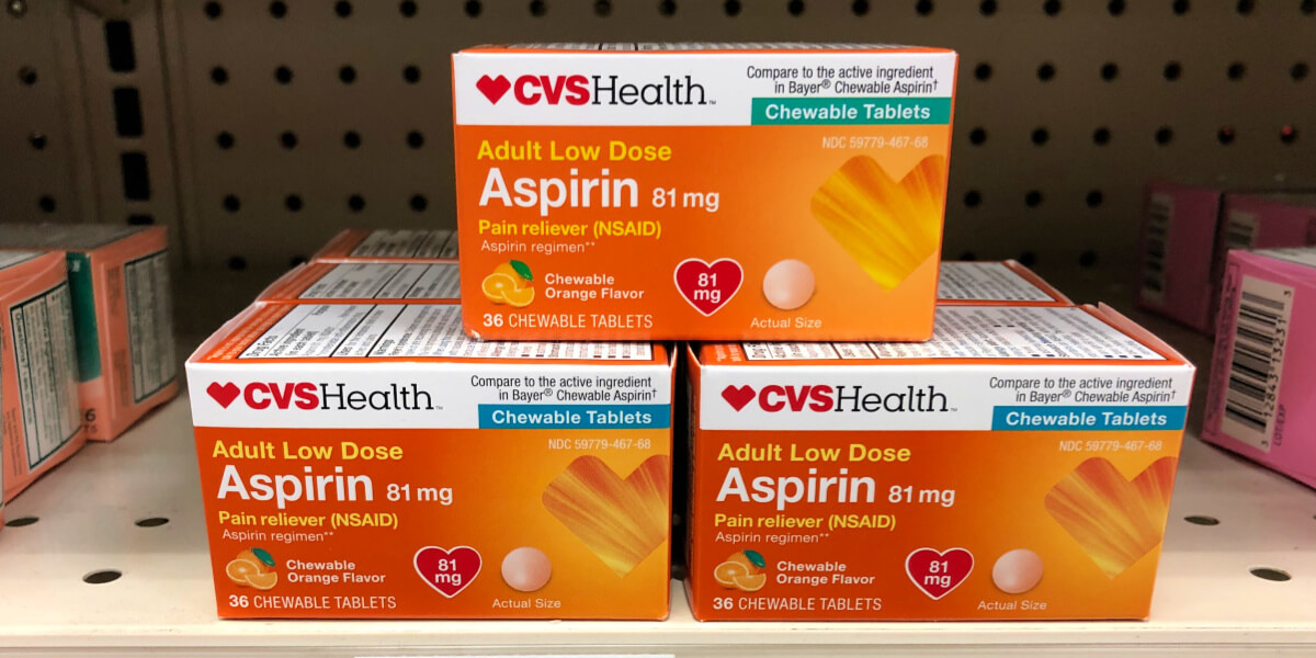 CVS Health Pain Relievers As Low FREE At