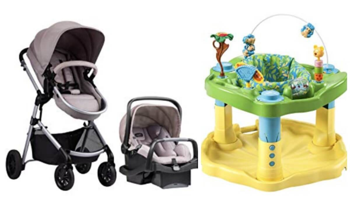 Up To 50 Off Evenflo Baby Products Car Seats Strollers Activity Centers More